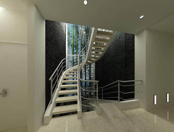 Led im treppenhaus sorgt f r rechtsmittel sicherheit und vielseitigkeit - Fenster fur treppenhaus ...