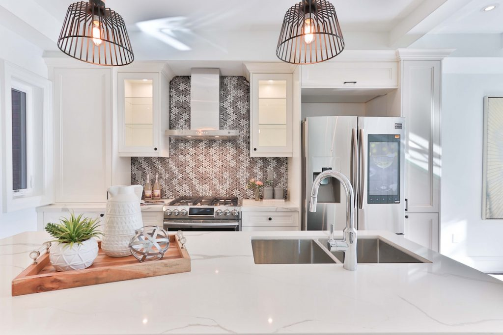 Küchenbeleuchtung: LED-Licht im Kochbereich