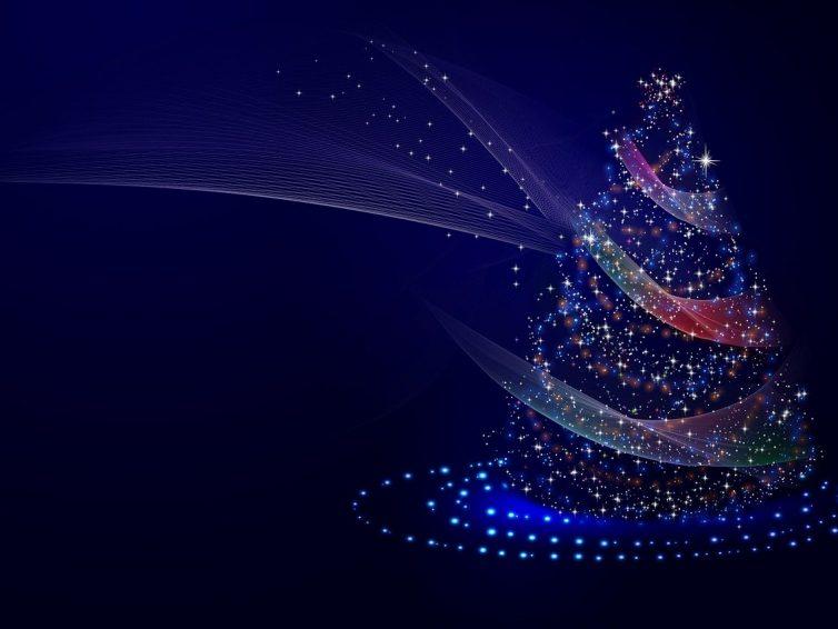 Der Weihnachtsbaum der Zukunft: wiederverwendbar und stromsparend