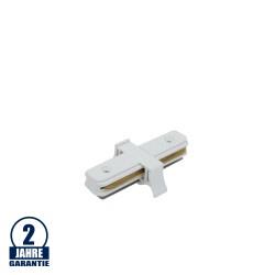 Verbinder für 1 Ph. Stromschiene Weiß LINE