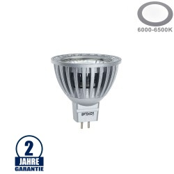 4W LED COB GU5.3/MR16 Spot Kaltweiß