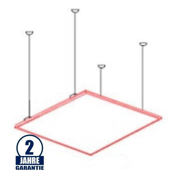Seilabhängung SET für LED Panel