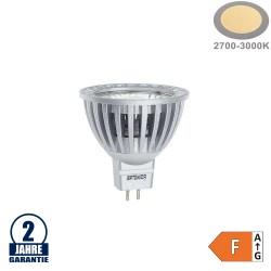 4W LED COB GU5.3/MR16 Spot Warmweiß