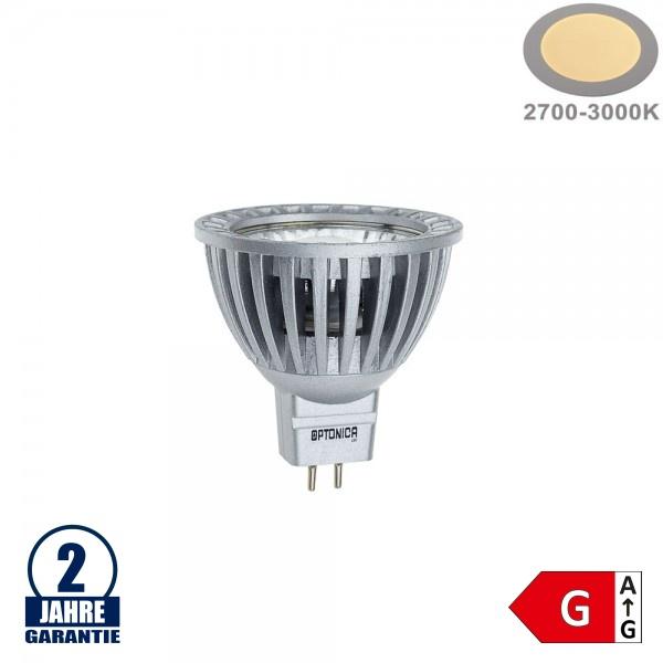 6W LED COB GU5.3/MR16 Spot Warmweiß