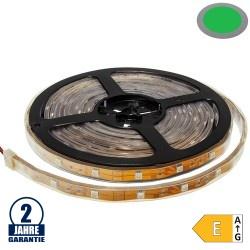 30SMD/m 7,2W/m 12V LED Streifen 5050 Grün Wassergeschützt 5m