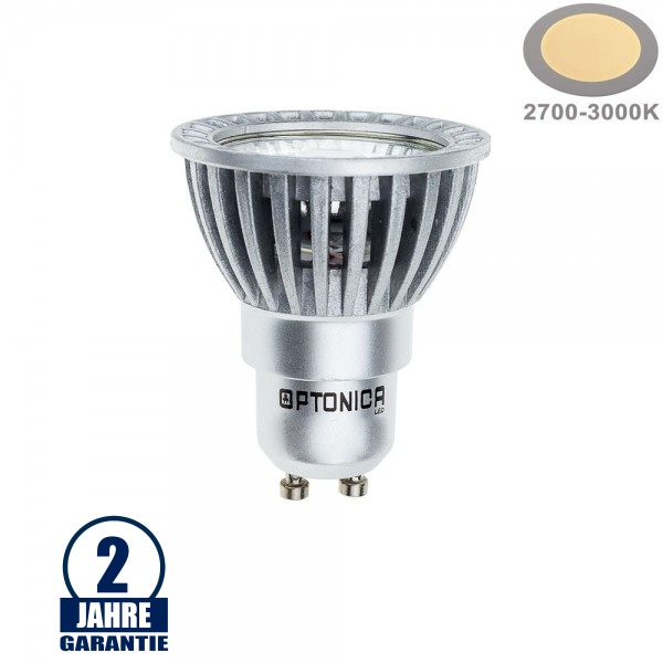 6W LED COB GU10 Spot Warmweiß