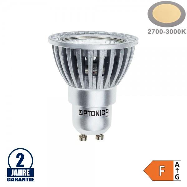 6W LED COB GU10 Spot Warmweiß