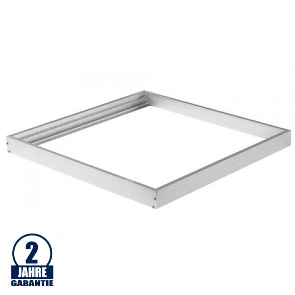 LED Panel Rahmen 600 x 600 mm Aluminium Weiß