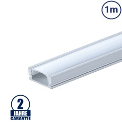 LED Profil Micro eloxiert 1m SET