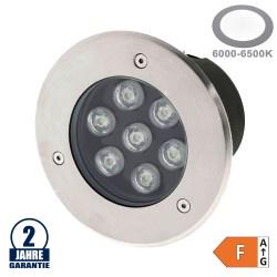 7W LED Bodenleuchte für Außenmontage 230V IP65 Kaltweiß