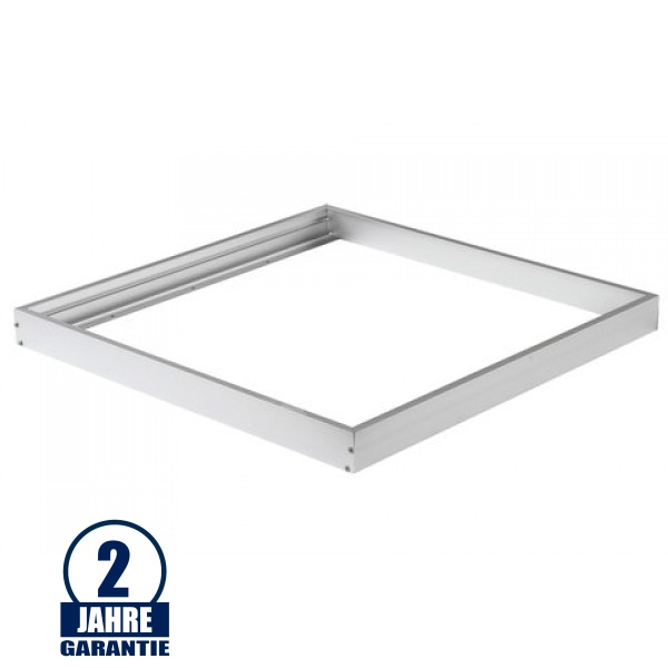 LED Panel Rahmen 300 x 300 mm Aluminium Weiß