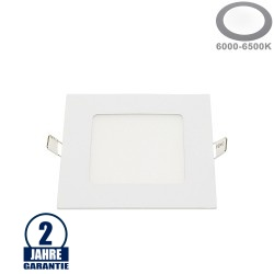 6W LED Mini Panel Quadratisch Kaltweiß