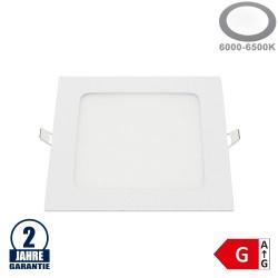 12W LED Mini Panel Quadratisch Kaltweiß