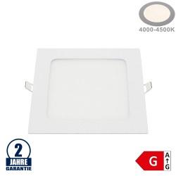 12W LED Mini Panel Quadratisch Neutralweiß