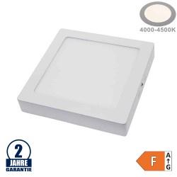 18W LED Aufbau Mini Panel Quadratisch Neutralweiß
