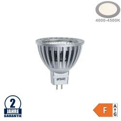 4W LED COB GU5.3/MR16 Spot Neutralweiß