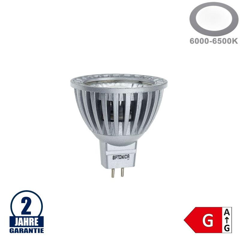 6W LED COB GU5.3/MR16 Spot Kaltweiß