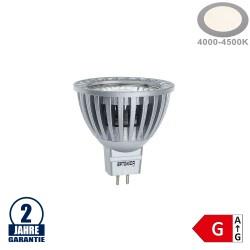 6W LED COB GU5.3/MR16 Spot Neutralweiß