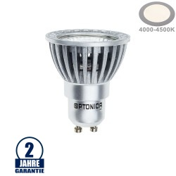 4W LED COB GU10 Spot Neutralweiß