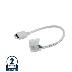 Verbinder Flexibel mit PIN für RGB Streifen 12V-24V