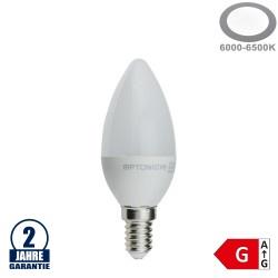 4W LED E14 Kerze Kunststoff Kaltweiß