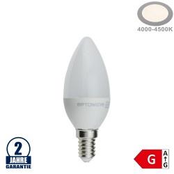4W LED E14 Kerze Kunststoff Neutralweiß