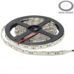 60SMD/m 14,4W/m 24V LED Streifen 5050 Kaltweiß 5m