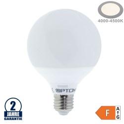 15W LED E27 G95 Globe Kunststoff Neutralweiß