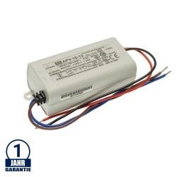 MEAN WELL 16W 12V DC Kunststoff Netzteil IP42