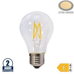 5W LED FILAMENT E27 A60 Birne Glas 600 Lumen Warmweiß