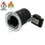 Einbaurahmen für LED GU10 Rund Schwenkbar Chrom IP20
