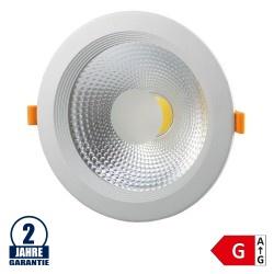 20W LED COB Einbauleuchte Rund 145° Neutralweiß TÜV