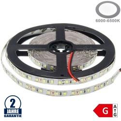 120SMD/m 9,6W/m 12V LED Streifen 3528 Kaltweiß 5m