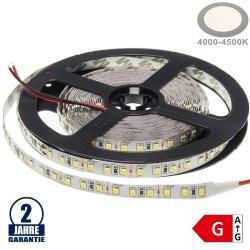 120SMD/m 9,6W/m 12V Premium LED Streifen 3528 Neutralweiß 5m