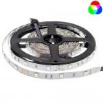 30SMD/m 7,2W/m 12V LED Streifen 5050 RGB 5m Rolle