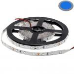 60SMD/m 4,8W/m 12V LED Streifen 3528 Blau 5m