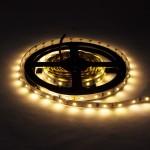 60SMD/m 4,8W/m 12V LED Streifen 3528 Warmweiß 5m