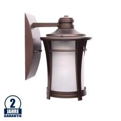 LED Laterne 5W SMD Bronze Classic für Wandmontage
