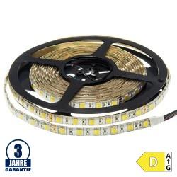 60SMD/m 12W/m 24V Professional Led Streifen 5025 Dual-LED Warm-Kaltweiß 5m Spritzwassergeschützt