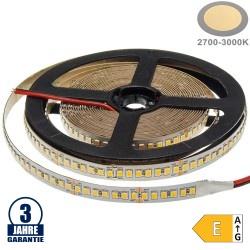 196SMD/m 20W/m 24V Professional LED Streifen 2835 Warmweiß 5m