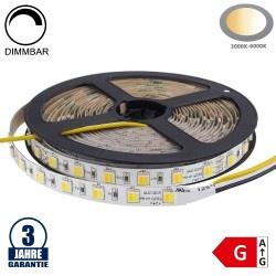 60SMD/m 12W/m 24V Professional LED Streifen 5025 Dual-LED Warm-Kaltweiß 5m