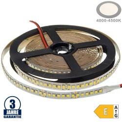 196SMD/m 20W/m 24V Professional LED Streifen 2835 Neutralweiß 5m
