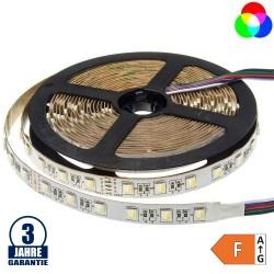 60SMD/m 16W/m 24V Professional LED Streifen RGBW 5m Rolle