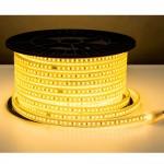 120SMD/m 10W 230V LED Streifen 5730 Wassergeschützt Warmweiß IP44 1m