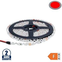 60SMD/m 7,2W/m 12V LED S-Streifen 2835 5m Rot Spritzwassergeschützt