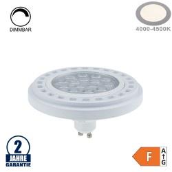 15W LED GU10/AR111 Spot 30° Neutralweiß Dimmbar