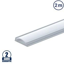 LED Profil Flexibel eloxiert 2m SET