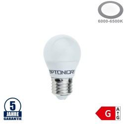 4W LED E27 G45 Birne Kunststoff Professional Kaltweiß