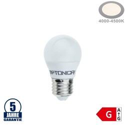 4W LED E27 G45 Birne Kunststoff Professional Neutralweiß