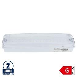 4W LED Notleuchte 3.6V 1500mAh Ni-Cd Akku